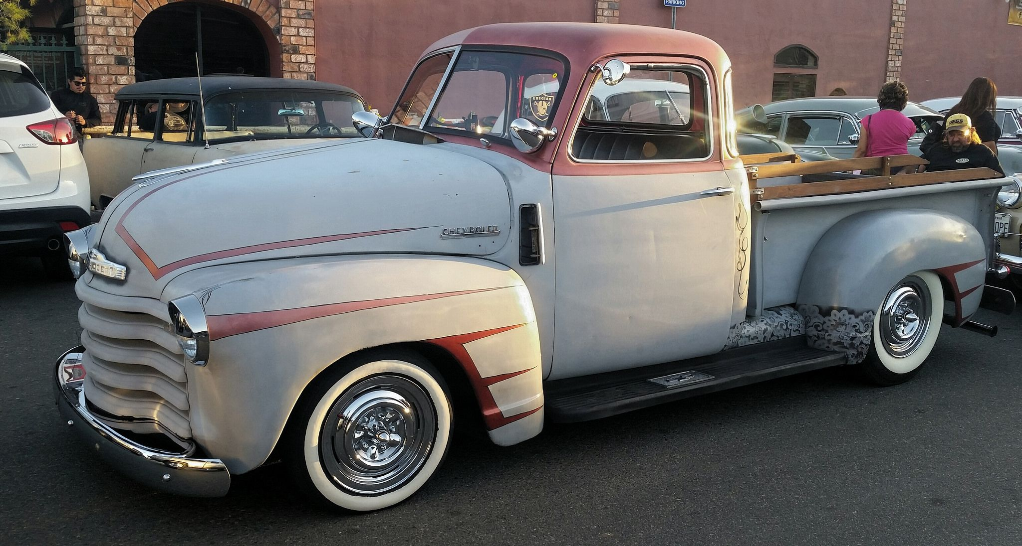 Cool old Chevy truck