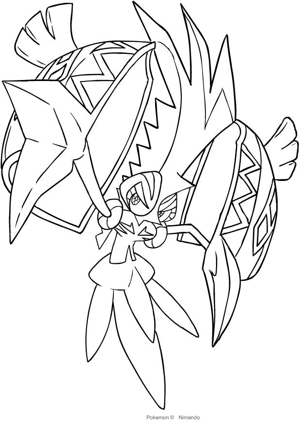 Dibujo De Tapu Koko De Los Pokemon De La Septima Generacion Dibujos Para Colorear Pokemon Colorear Pokemon Dibujos Para Colorear