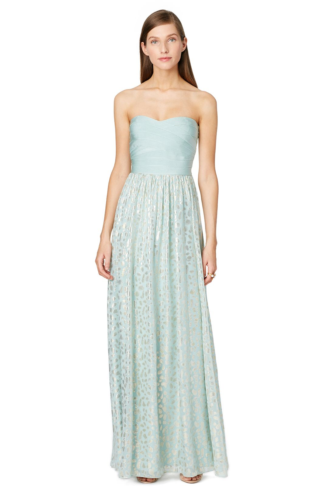 Erin erin fetherston mint mosaic maxi dress prom pinterest