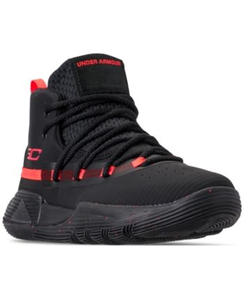 1905b158ddac Under Armour Little Boys  Curry 3Zero Ii Basketball Sneakers from Finish  Line - Black 1.5