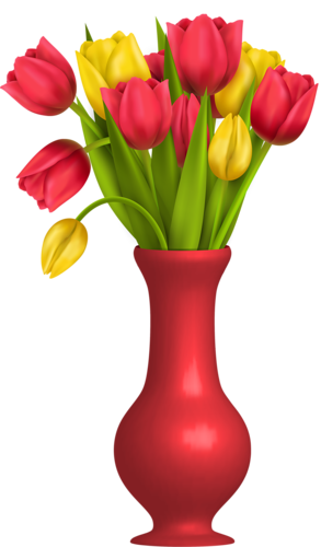 Вазы с цветами, букеты | CLIP ART FLOWERS TWO | Flowers ...