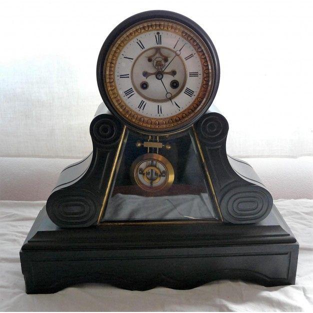 reloj estilo napole n iii tipo par s siglo xix saatler pinterest rh pinterest com Mission Mantel Clocks Mantel Clock Clip Art
