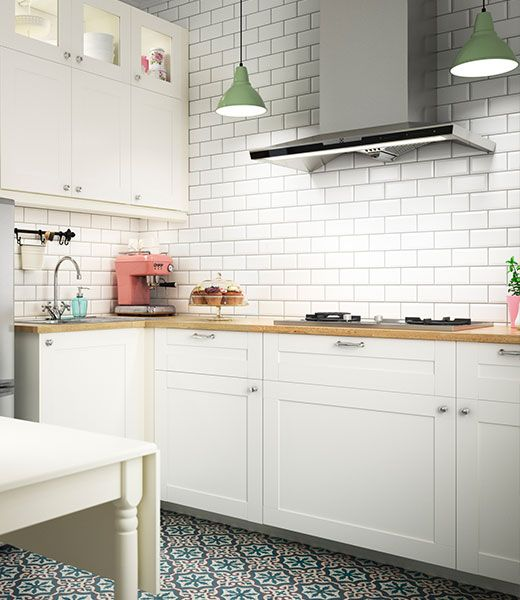 SAVEDAL-keukendeuren-520x600-2jpg (520×600) home Pinterest - recouvrir carrelage mural cuisine