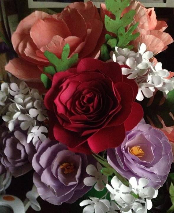 Cardstock paper flowers makinflowers pinterest flowers cardstock paper flowers mightylinksfo