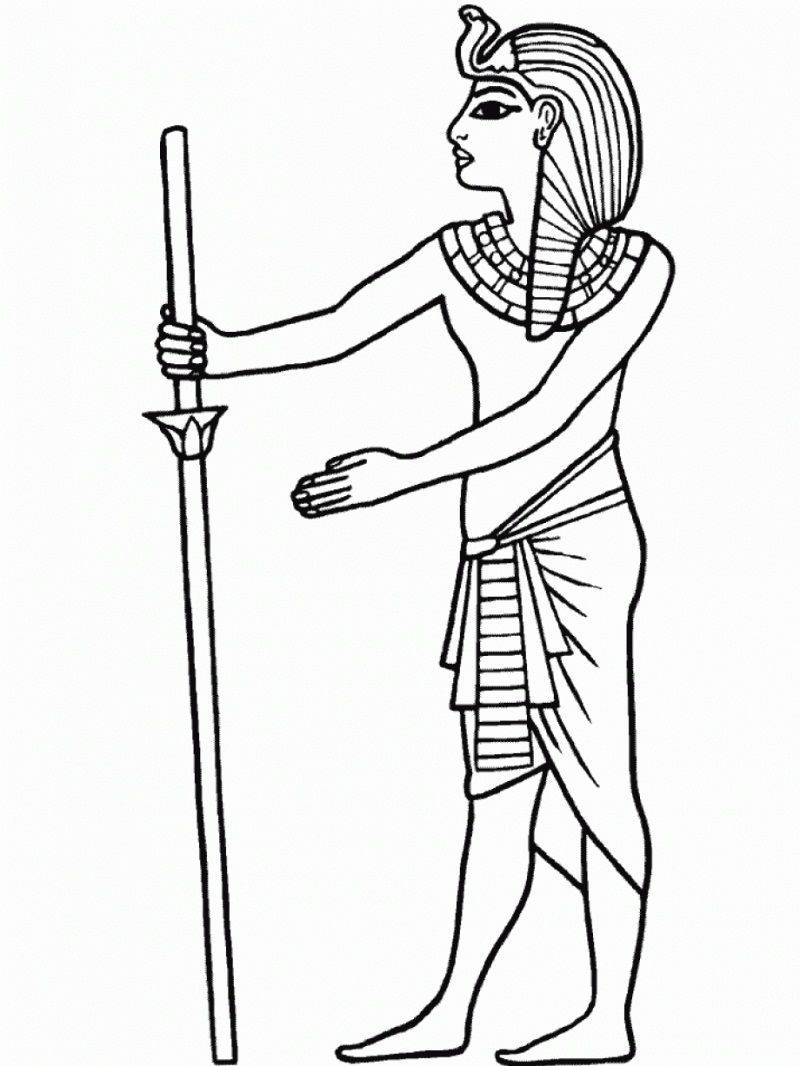 Famous Egyptian Coloring Pages Osiris Frieze - Resume Ideas ...