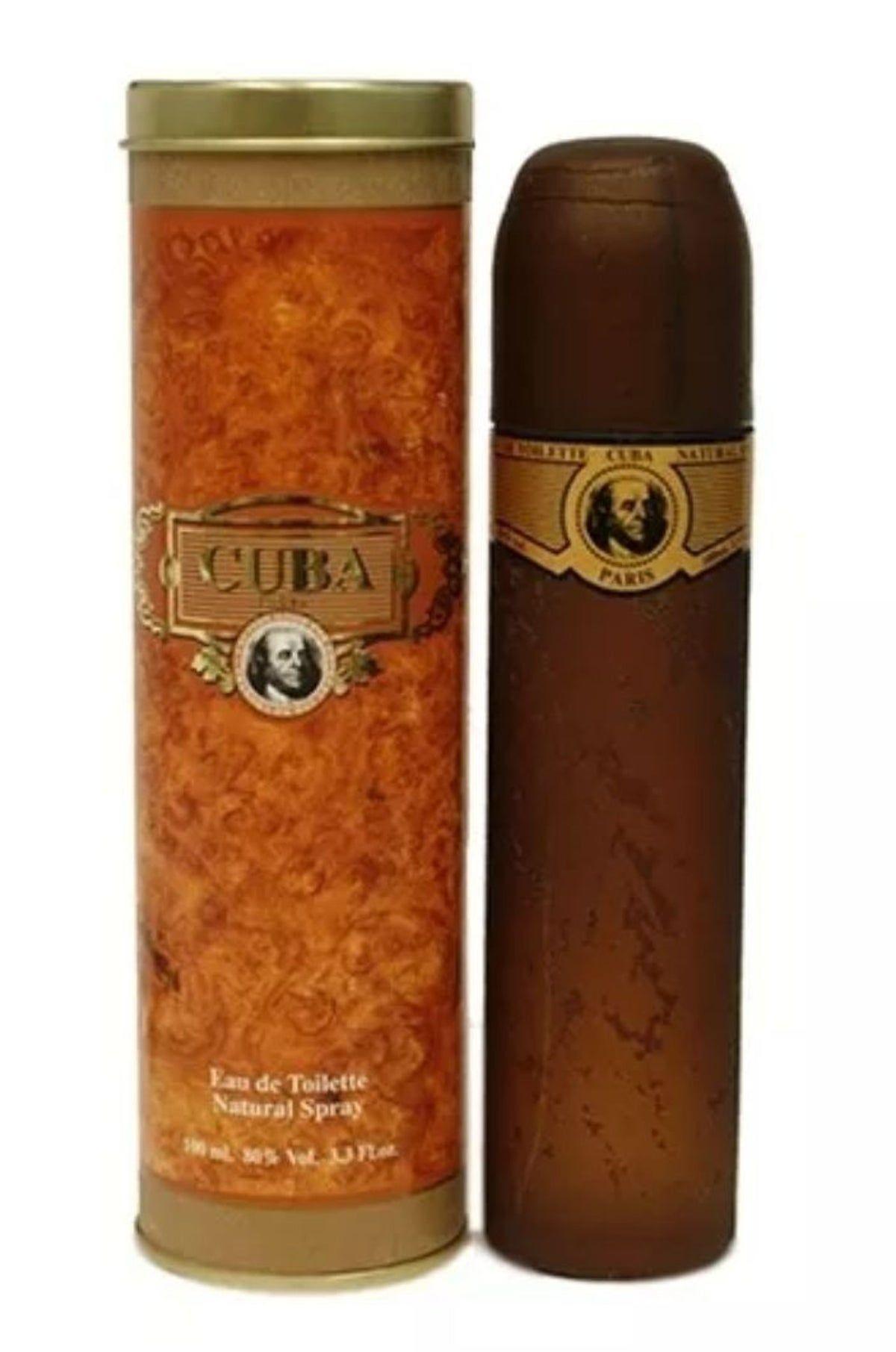 Cuba Gold Original Mens Cigar Cologne Men Perfume Eau De Toilette Fragrance