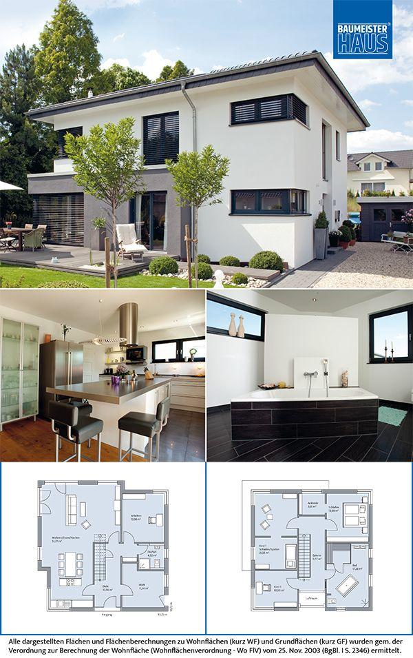Wonderful Haus Freiberger U2013 Schicke Villa. Moderner Anbau. Eine Zweigeschossige Villa  Mit Zeltdach Und Schmalen
