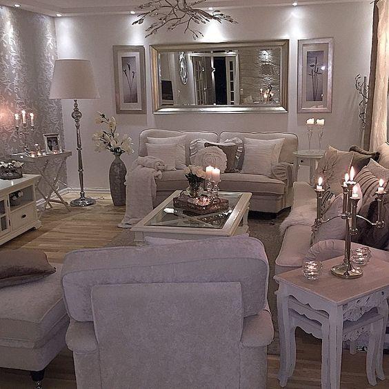 Accesorios decorativos en tu mesa de centro hola chicas for B q living room mirrors