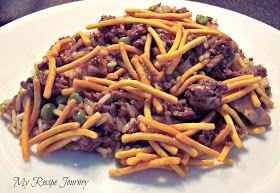 My Recipe Journey: Chinese Casserole