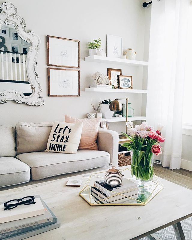 White Living Room Furniture Ideas Part - 22: 120+ Apartment Decorating Ideas. Apartments DecoratingWhite Living ...