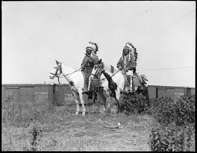 Indians - Wild West show by Boston Public Library, via Flickr