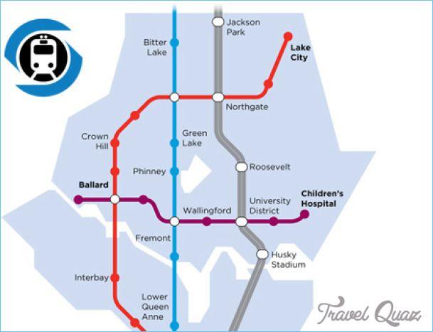 nice Seattle Metro Map