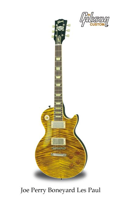 Joe Perry Boneyard Les Paul