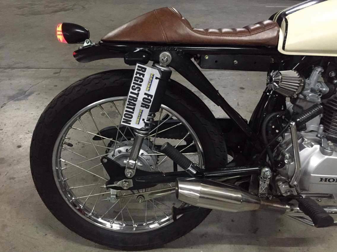 Bike Feature Honda Tmx 125 Cafe Racer By Wild Customs From Las Pinas Cafe Racer Philippines Cafe Racer Honda Cafe Racer Custom Bike Parts
