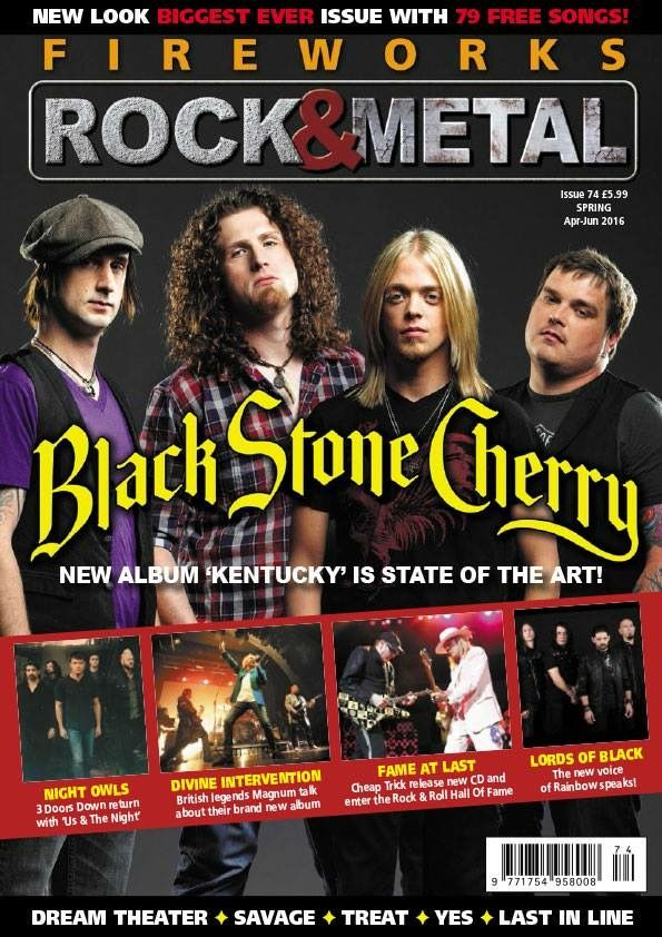 Fireworks Rock & Metal - UK (Since 2000  Fireworks is THE magazine
