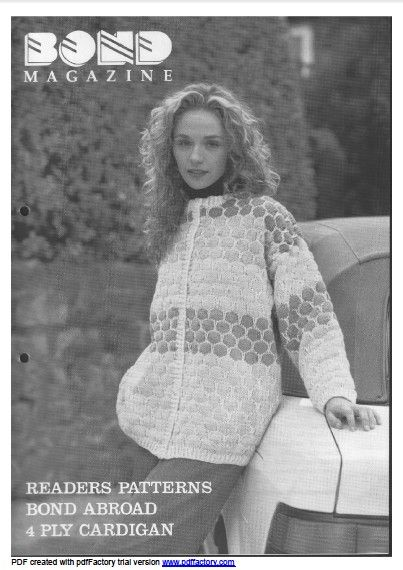 Link To Download The Bond Magazine Issue 08 Susyranner Knitting