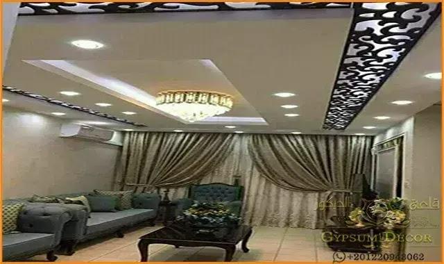 اسقف جبس بورد 2021 False Ceiling Living Room Ceiling Design False Ceiling Design