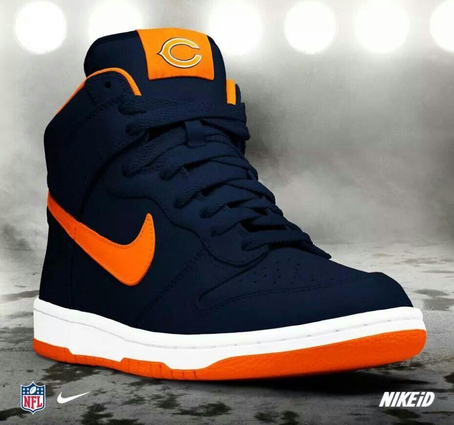 outlet store 6fc54 b501f Sneaker geek!  ChicagoBears Nike Free Shoes, Nike Shoes, Sneakers Nike, Shoe