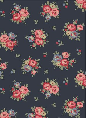 Cath Kidston Iphone Wallpaper Vintage Floral Wallpaper Pattern