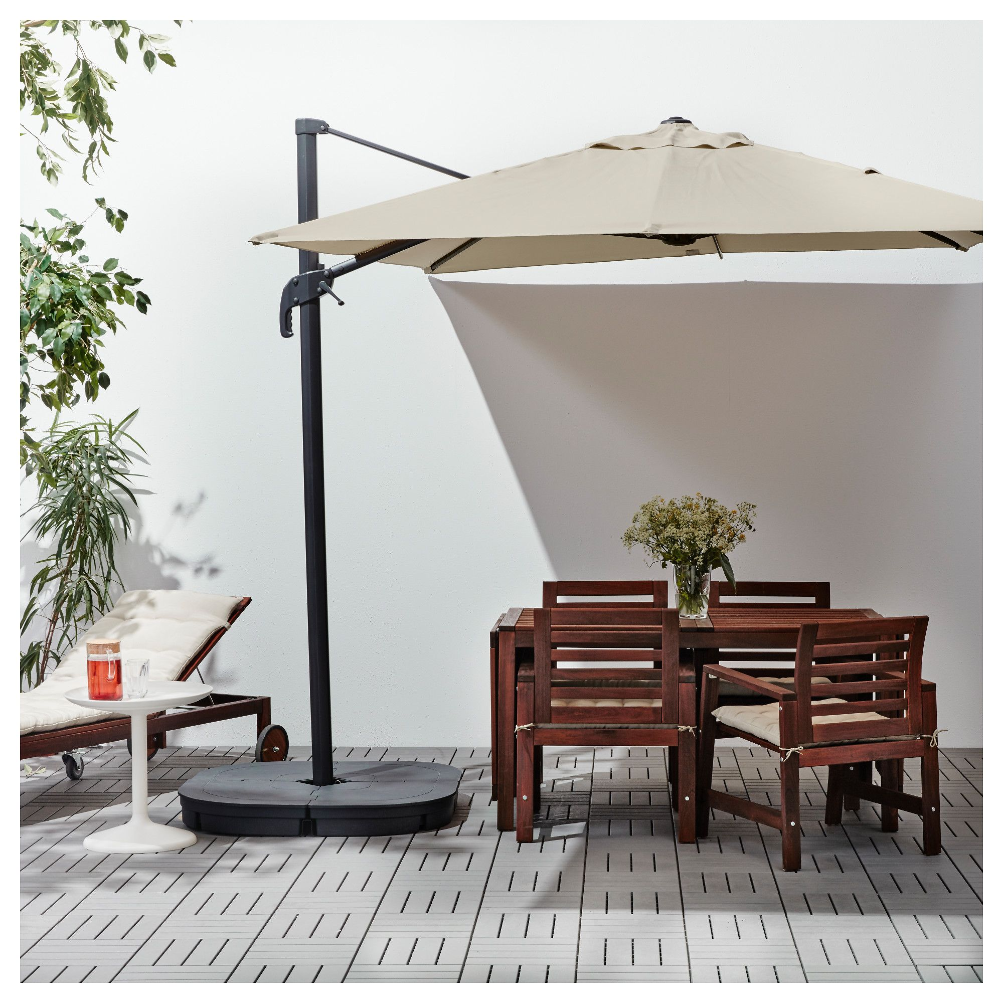 Ikea Parasol Balkon Furniture And Home Furnishings Hanging Umbrellas Offset Patio
