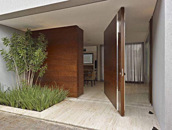 Fachadas de casas modernas, fachadas de casas modernas de un piso