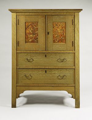 Linen Press | Arts and Crafts Objects | Arts, crafts