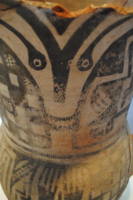 Jarrn indgena de barro cocido  vasos esculticos  Pinterest