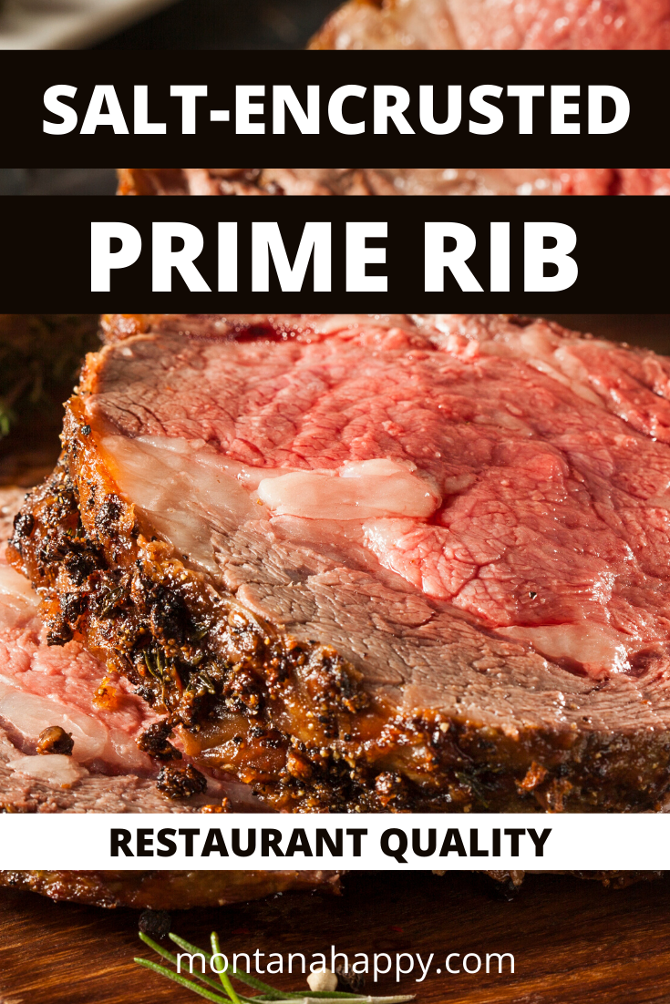 Salt-Encrusted Prime Rib Recipe