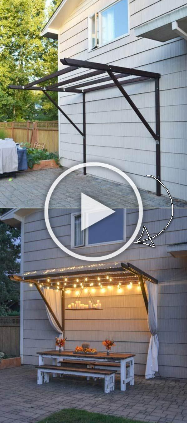 The best 21 DIY lighting ideas for patio and summer patio Proud Hom