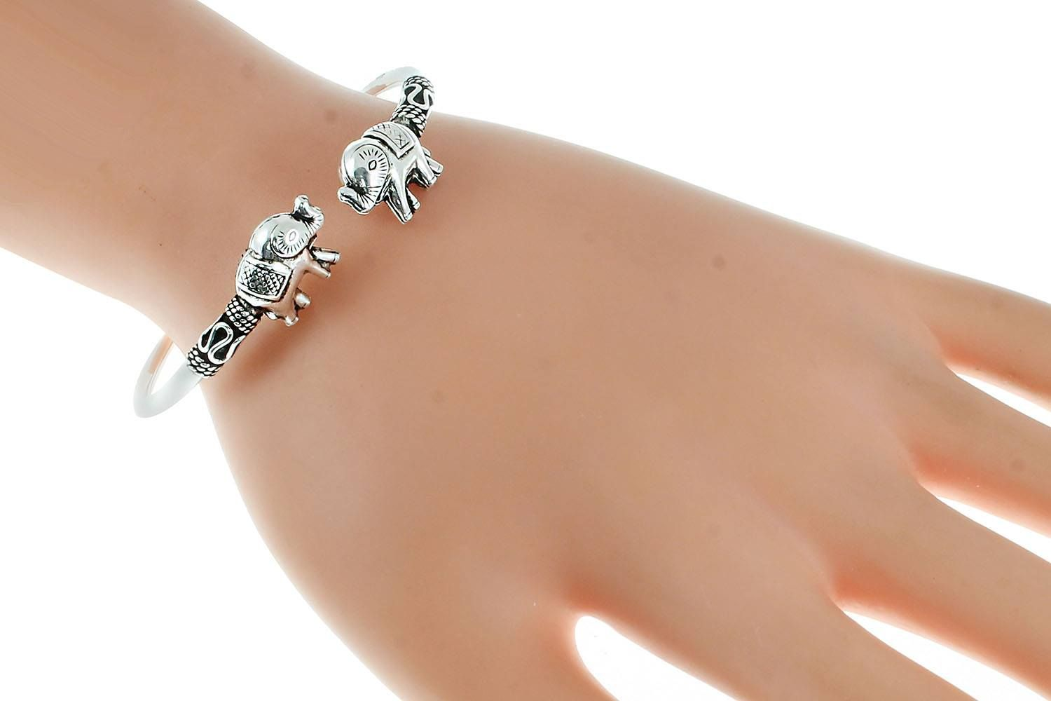 Cuff two elephant bracelet code ms with price le goo