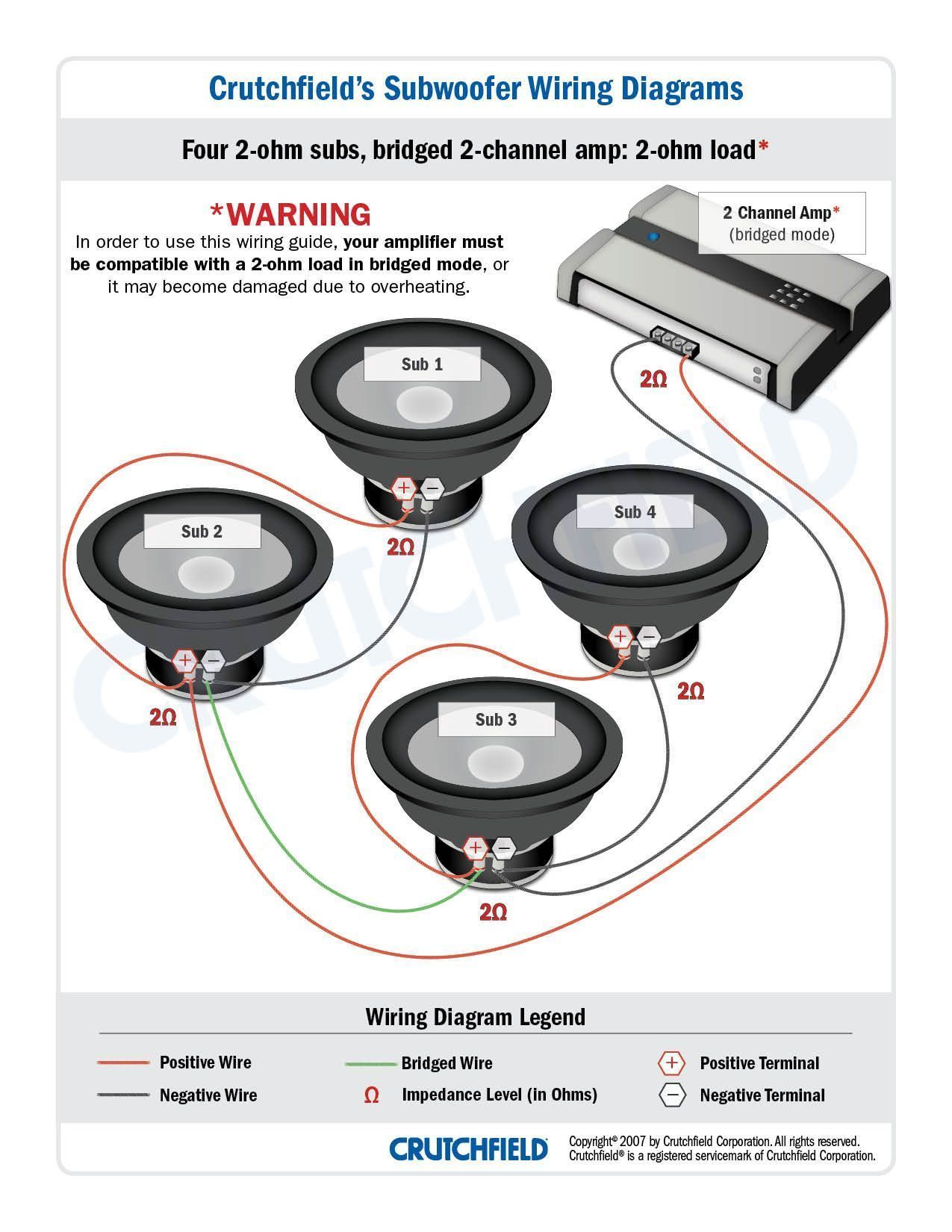 subwoofer wiring diagrams with diagram sonic electronix gooddy org best of dual 1 ohm [ 1275 x 1650 Pixel ]