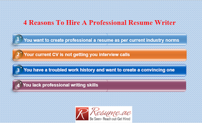 Resume.ae 4 Reasons to Hire A Professional Resume Writer