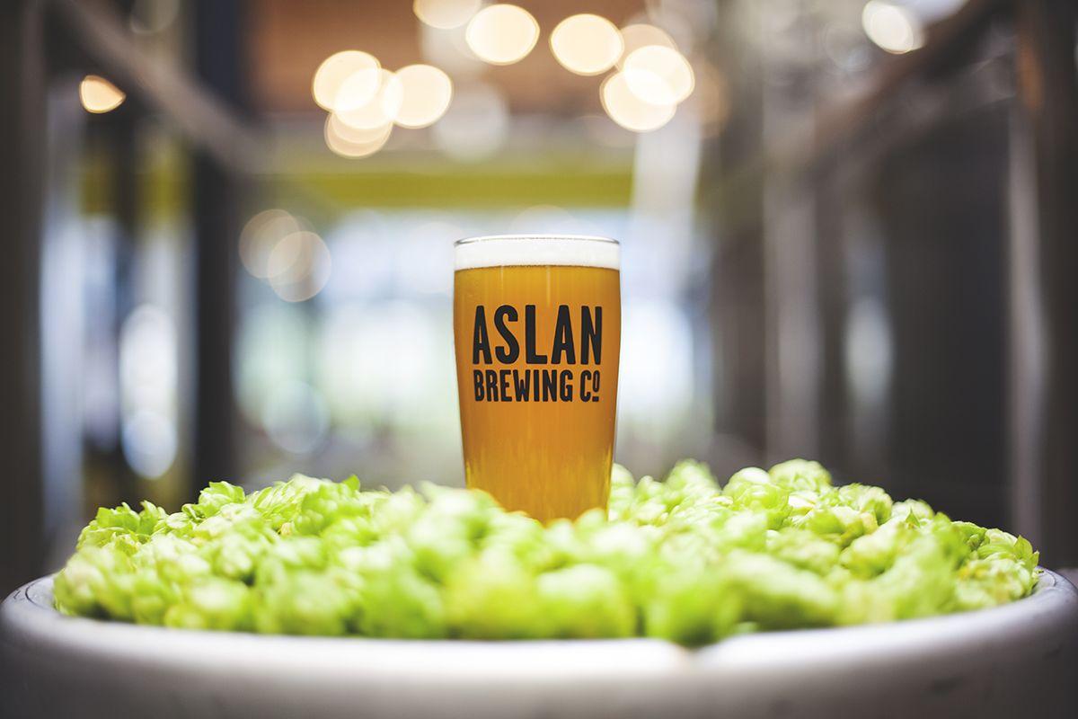 Aslan Brewing Company in Bellingham, WA Great food and good beer