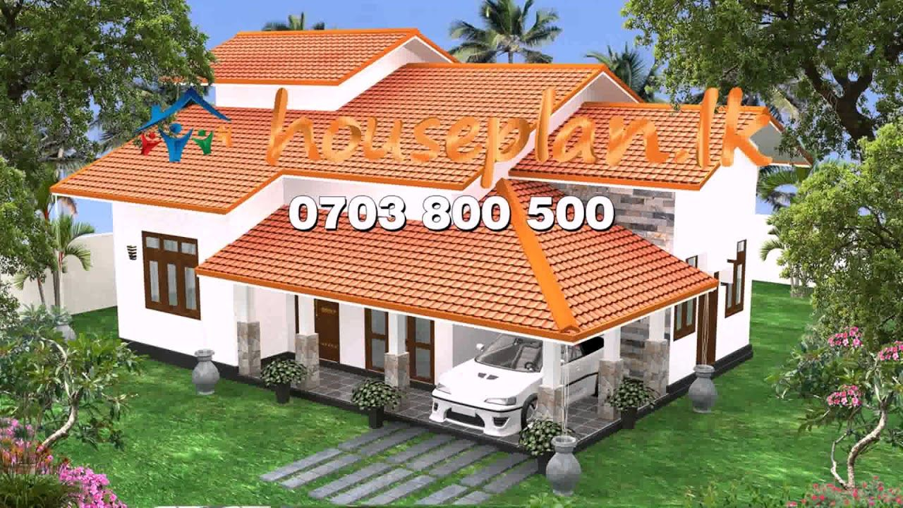 Awesome Single Floor House Plans In Sri Lanka And View In 2020 One Floor House Plans Custom Home Plans House Plans