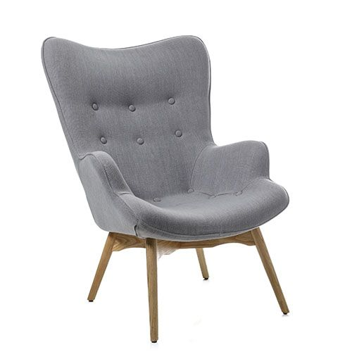 Soho Occasional Chair Steel Grey Furniture Chairs Adairs Online Occasional Chairs Furniture Armchair