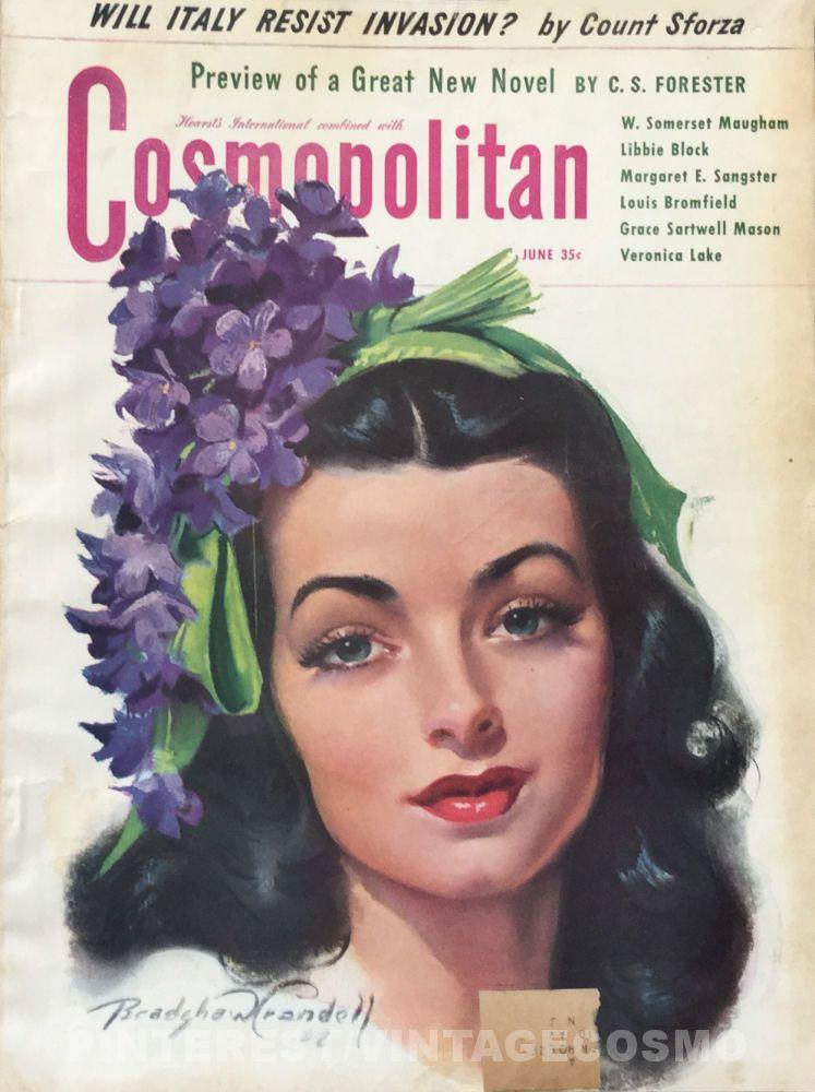 Cosmopolitan magazine june 1943 artist maytime by