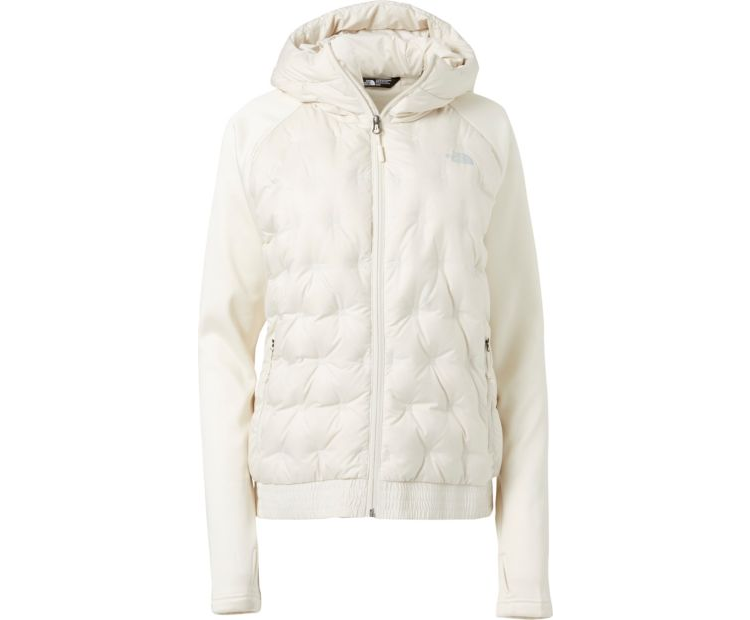 27c8c04c7 The North Face Women's Mash-Up Bomber Down Jacket in Vintage White ...