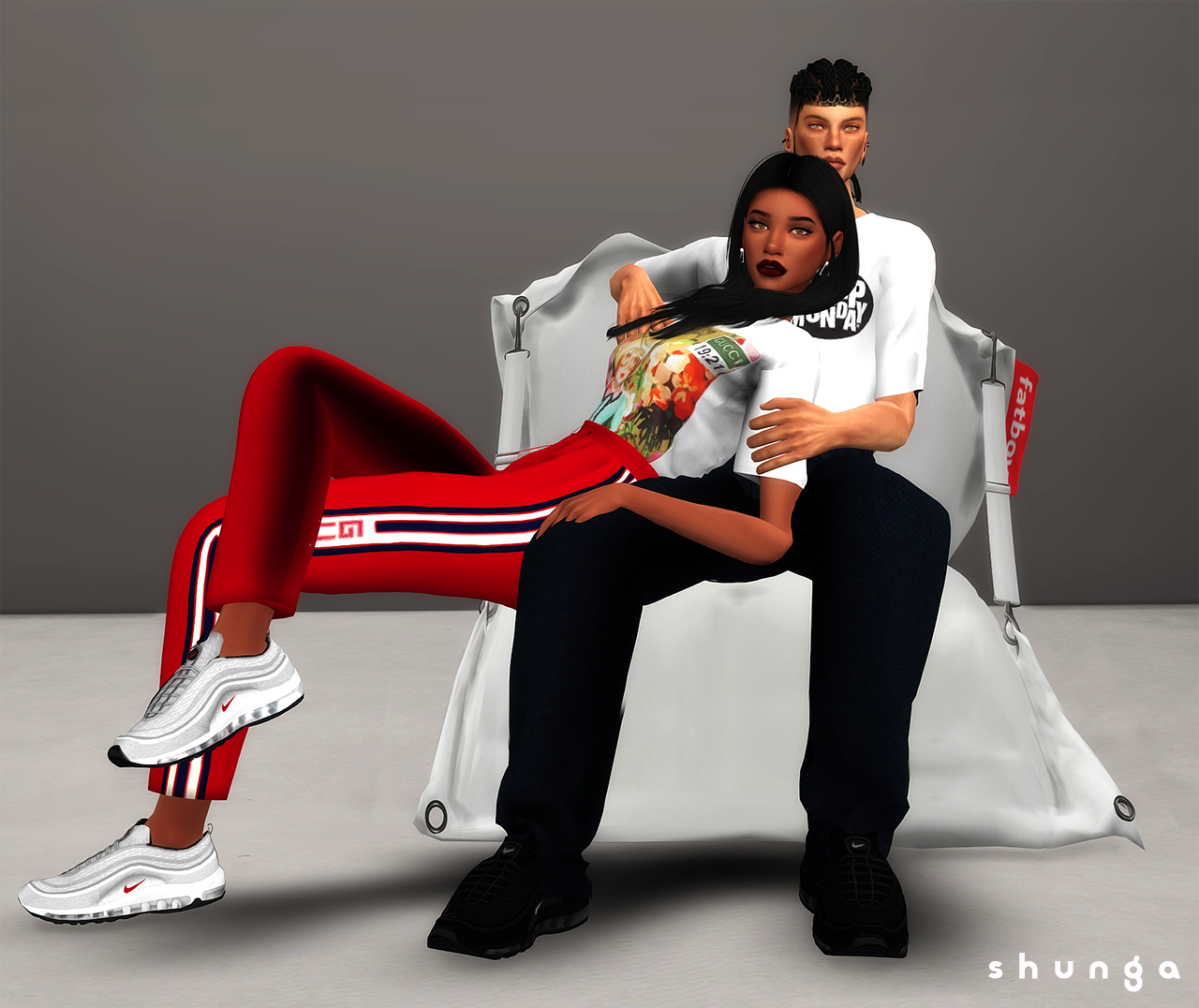 sims 4 nike air force ones cc