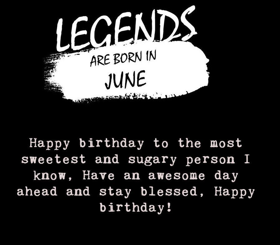 Birthday Quote Image For June Born People Happybirthday