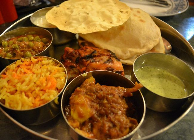 Indian food set menu royal india bangkok little india for Cuisine bangkok