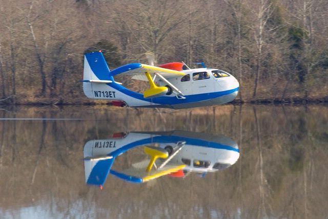Republic Seabee  lake  seaplane