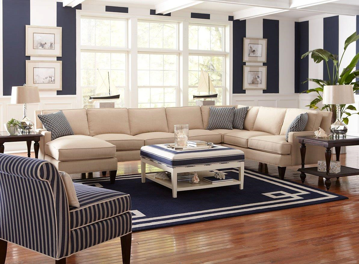 My Latham Sectional Chatfield Chair And Taylor Ottoman Add A Sense Of Comfort To This