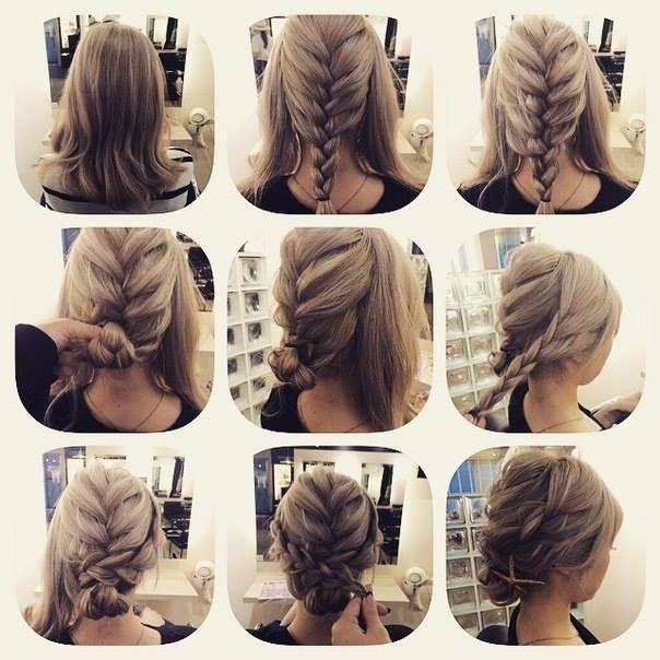 Easy Formal Hairstyles Hairstyle Tutorial3 Deniz 3  Cabello  Pinterest  Shoulder