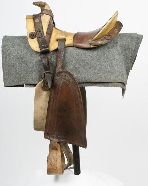 Civil War Confederate Texas-Hope Saddle