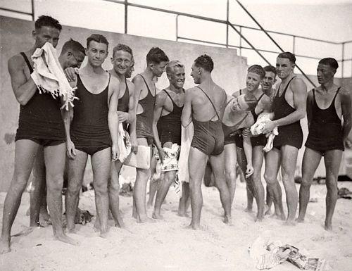 Vintage Mens Swimsuits