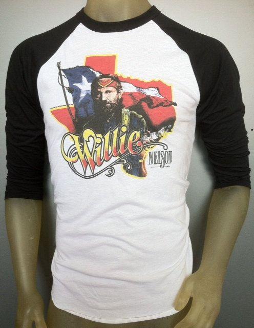 nelson tee Willie shirt vintage