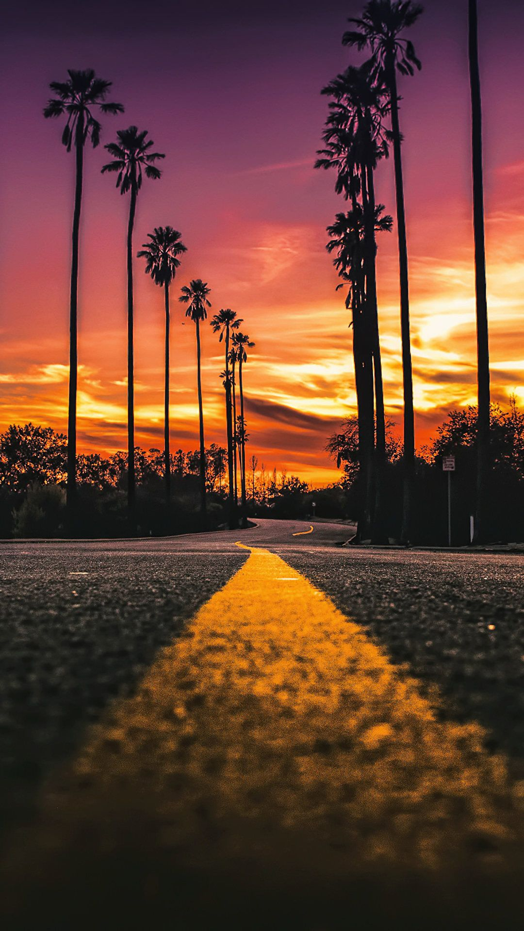 California Street View [1080x1920] Landscape photography