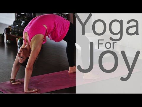 Yoga For Joy With Lesley Fightmaster - YouTube    Really