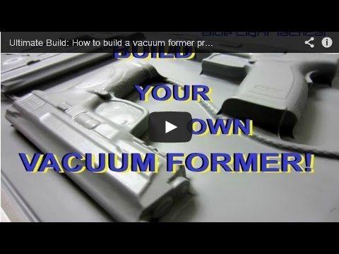 Diy Vacuum Former Press Build For Kydex Holster Making Youtube