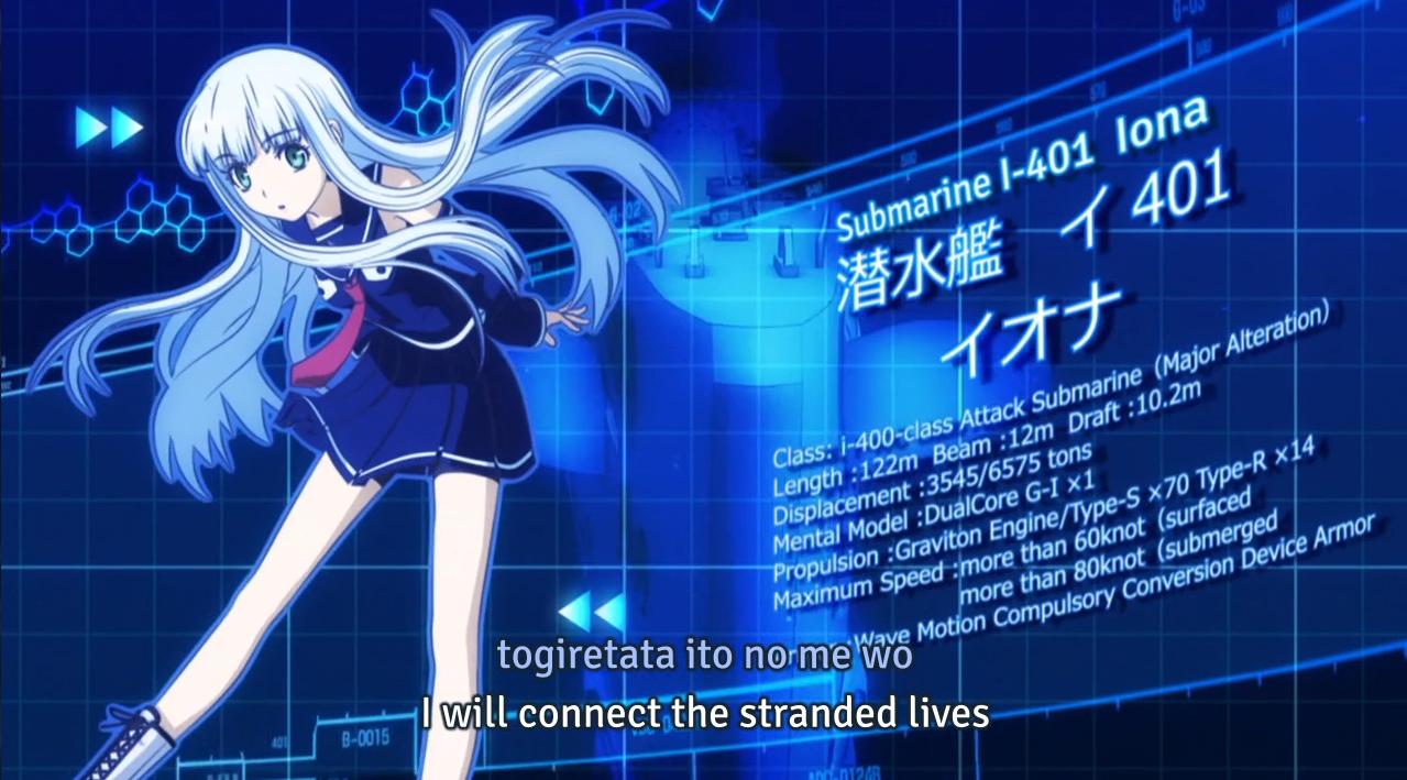Aoki Hagane No Arpeggio 1 9 Naval Warfare With Ship Girls